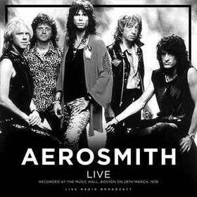 AEROSMITH - LIVE AT BOSTON MUSIC HALL 1978