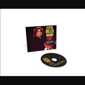 MILLER, STEVE - LIVE!: BREAKING GROUND AUGUST 3, 1977