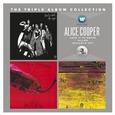 COOPER, ALICE - TRIPLE ALBUM COLLECTION (Compact Disc)