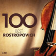 VARIOUS ARTISTS - 100 BEST ROSTROPOVICH (Compact Disc)
