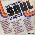 VARIOUS ARTISTS - 25 ULTIMATE SOUL LEGENDS (Compact Disc)