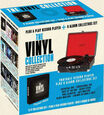 TOCADISCOS - TURNTABLE - DENVER VP120 + 8 VINYL (VARIOS)