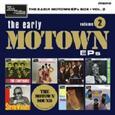 VARIOUS ARTISTS - EARLY MOTOWN EPS 2 -BOX- (Disco Vinilo  7')