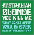 AUSTRALIAN BLONDE - YOU KILL ME (Disco Vinilo  7')
