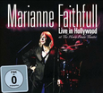 FAITHFULL, MARIANNE - LIVE IN HOLLYWOOD + DVD (Compact Disc)