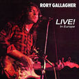 GALLAGHER, RORY - LIVE IN EUROPE -HQ- (Disco Vinilo LP)