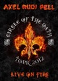 PELL, AXEL RUDI - LIVE ON FIRE + CD (Digital Video -DVD-)