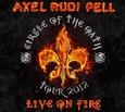 PELL, AXEL RUDI - LIVE ON FIRE (Disco Vinilo LP)