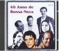 VARIOUS ARTISTS - 40 AÑOS DE BOSSA NOVA 1 (Compact Disc)
