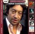 GAINSBOURG, SERGE - TIMELESS CLASSIC ALBUMS    5CD (Compact Disc)