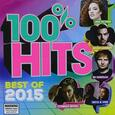 VARIOUS ARTISTS - 100% HITS BEST OF 2015 (Compact Disc)