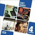 BAKER, CHET - 4 ORIGINAL ALBUMS (Compact Disc)