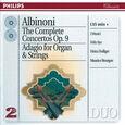 ALBINONI, TOMASO - COMPL.CONC.OP.9 & ADAGIO (Compact Disc)