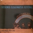 CREEDENCE CLEARWATER REVIVAL - LIVE AT FILMORE WEST -1.971 (Disco Vinilo LP)