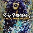 GALLAGHER, RORY - CHECK SHIRT WIZARD -LIVE IN '77 (Disco Vinilo LP)