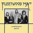 FLEETWOOD MAC - CAPITOL THEATRE, PASSAIC, NJ OCTOBER 1975 (Compact Disc)