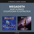 MEGADETH - RUST IN PEACE / COUNTDOWN TO EXTINCTION (Compact Disc)