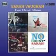 VAUGHAN, SARAH - FOUR CLASSIC.. -REMAST- (Compact Disc)