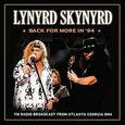 LYNYRD SKYNYRD - BACK FOR MORE IN 94 (Disco Vinilo LP)