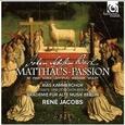 BACH, JOHANN SEBASTIAN - MATTHAUS-PASSION (Compact Disc)