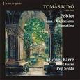 BUXO, TOMAS - POBLET - TEMA I VARIACIONS - SONATINA (Compact Disc)