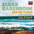 BARENBOIM, DANIEL - ELGAR: SEA PICTURES. FALSTAFF (Compact Disc)