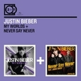 BIEBER, JUSTIN - MY WORLDS/NEVER SAY NEVER (Compact Disc)