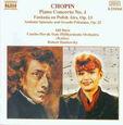 CHOPIN, FREDERIC - PIANO CONCERTO NO.1 FANTA (Compact Disc)