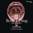 LES CRIS DE PARIS - BERIO TO SING (Compact Disc)