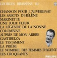 BRASSENS, GEORGES - VOL.3  (Compact Disc)