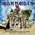 IRON MAIDEN - SOMEWHERE BACK IN TIME: BEST OF 1980 - 1989 (Compact Disc)
