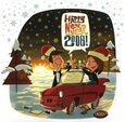 VARIOUS ARTISTS - HAPPY NEW YEAR 2008-LTD (Compact 'single')
