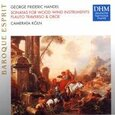 HANDEL, GEORG FRIEDRICH - CONCERTO FOR WOODWIND INS (Compact Disc)