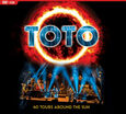 TOTO - 40 TOURS AROUND THE SUN + DVD (Compact Disc)