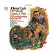 CASH, JOHNNY - EVERYBODY LOVES A NUT -HQ (Disco Vinilo LP)