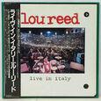 REED, LOU - LIVE IN ITALY (Disco Vinilo LP)