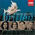 BRITTEN, BENJAMIN - STRING QUARTETS NO.1,2 & (Compact Disc)