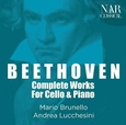 BEETHOVEN, LUDWIG VAN - COMPLETE CELLO WORKS FOR CELLO AND PIANO (Compact Disc)
