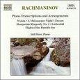 RACHMANINOV, SERGEI - PIANO TRANSCRIPTIONS & AR (Compact Disc)