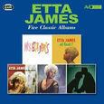 JAMES, ETTA - FIVE CLASSIC ALBUMS (Compact Disc)