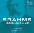 BRAHMS, JOHANNES - CELLO SONATAS N.1 OP.38 N.2 OP.99 (Compact Disc)
