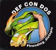 DEF CON DOS - TRENDING_DISTOPIC (Compact Disc)