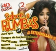 VARIOUS ARTISTS - SABOR A RUMBAS - 40 EXITOS (Compact Disc)