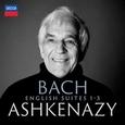 ASHKENAZY, VLADIMIR - BACH: ENGLISH SUITES 1-3 (Compact Disc)