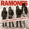 RAMONES - OLD WALDORF, SAN FRANCISCO 31 JANUARY 1978 (Compact Disc)