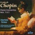 CHOPIN, FREDERIC - PIANO CONCERTOS NO.1&2 (Compact Disc)