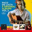 LUCIA, PACO DE - 5 ORIGINAL ALBUMS VOL.2 (Compact Disc)